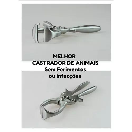 Alicate castrador tipo burdizzo 23cm caprino ovino no brasil