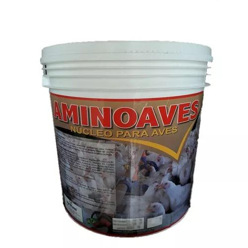 Aminoaves núcleo mineral aves posturas poedeiras 5 kg