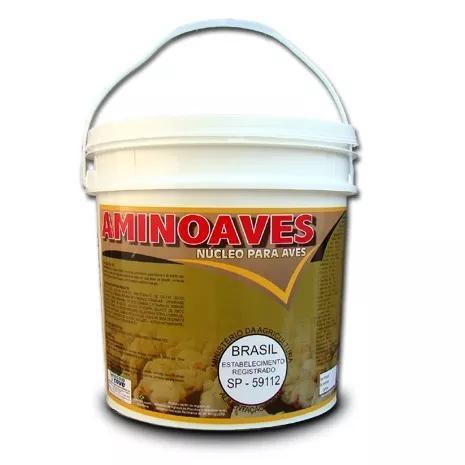 Aminoaves núcleo para misturar na ração 05 kg promoção