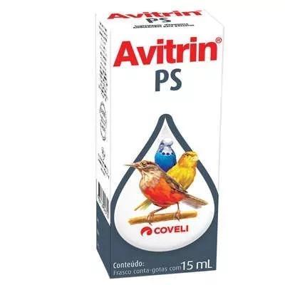 Avitrin ps coveli para pássaros 10ml (venc 05/2020)