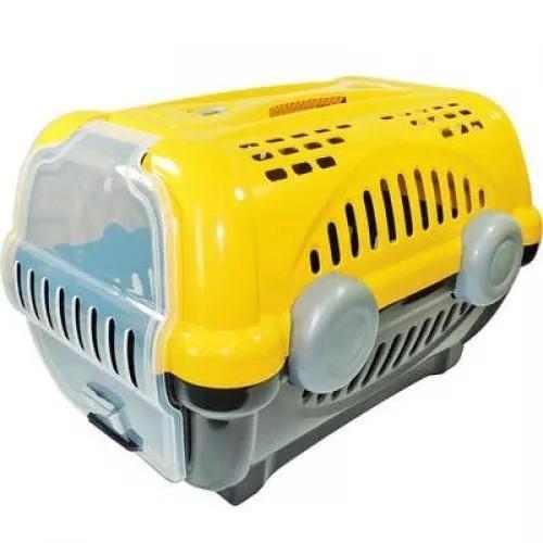 Caixa de transporte luxo furacão n.02 amarela