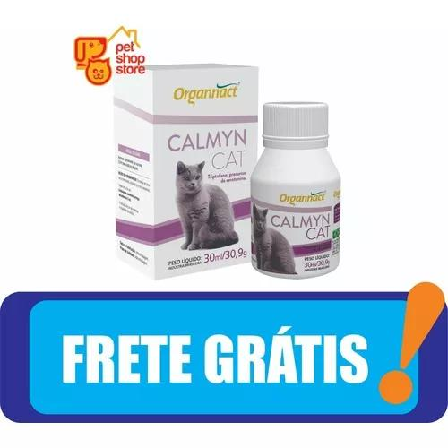 Calmyn cat 30 ml organnact 30ml pet shop store frete gratis