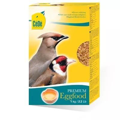 Cede farinhada para aves silvestres (ovos+camarão)