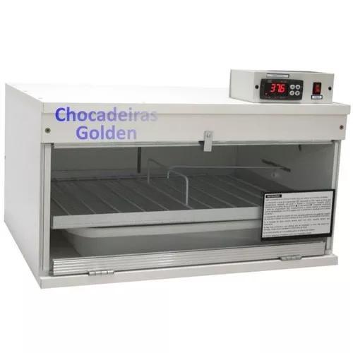 Chocadeira 120 ovos, automatica / golden / frete gratis