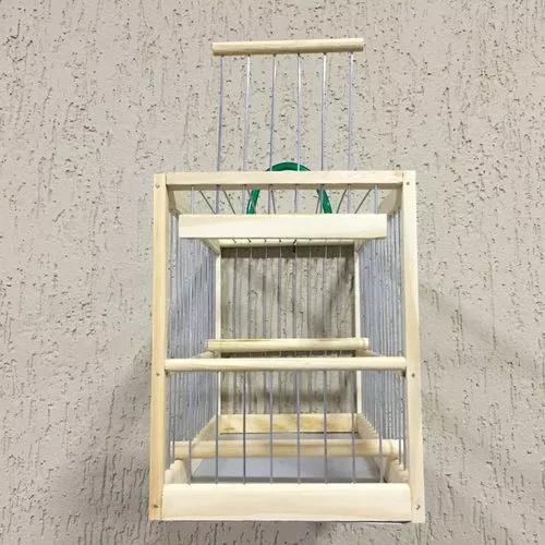 Gaiola transporte de pássaro coleiro canario curio