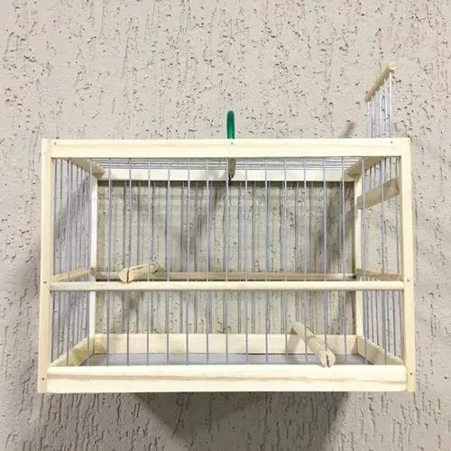 Gaiola transporte de pássaro coleiro canario curio e outros
