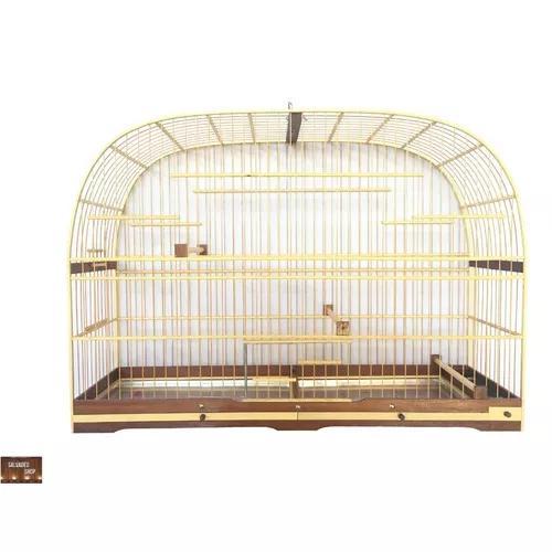 Gaiola trinca ferro corrupião pássaro preto malha larga 2