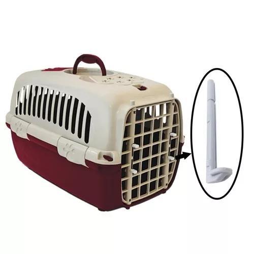 Kit 4 travas pino puxador da porta para caixa transporte pet
