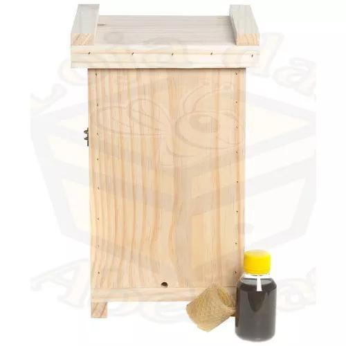 Kit atrativo jataí - caixa inteligente e loção isca