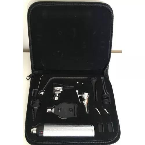 Kit otoscópio - oftalmoscópio - laringoscópio -