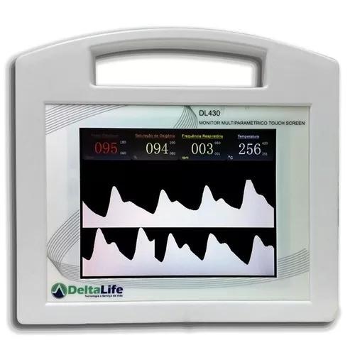 Monitor cirúrgico veterinário dl 430 com 5 parâmetros