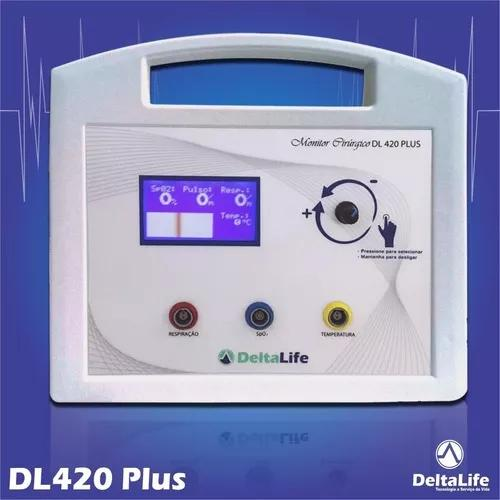 Monitor multiparametrico veterinário dl420