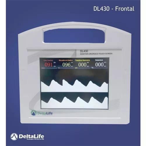 Monitor multiparametrico veterinário dl430