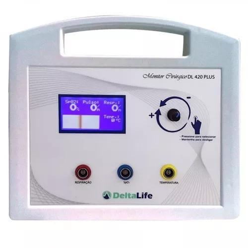 Monitor veterinário dl 420 plus com 5 parâmetros