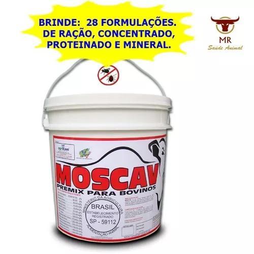 Moscav 50kg, controla moscas, carrapatos, bernes, v: 04/20