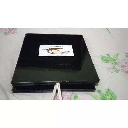 Placa aquecida para répteis 15x15cm lapidada agc