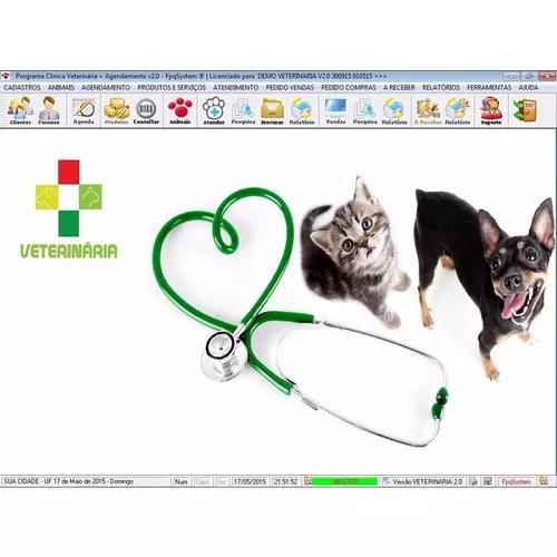 Programa para clinica veterinária com agendamento v2.0