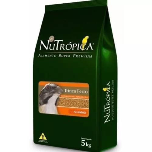 Ração nutrópica fertmax reprodução de trinca ferro -