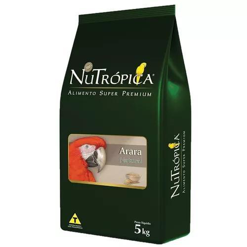 Ração nutrópica natural para arara - 5 kg