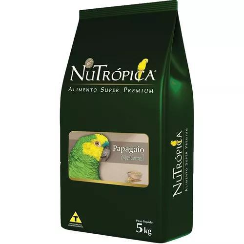 Ração nutrópica natural para papagaios - 5 kg