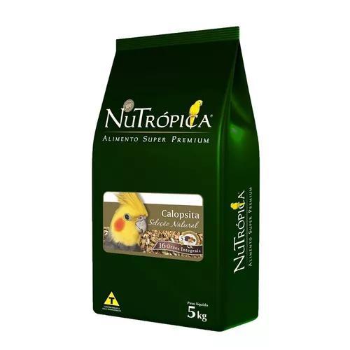 Ração nutrópica seleção natural calopsita - 5 kg