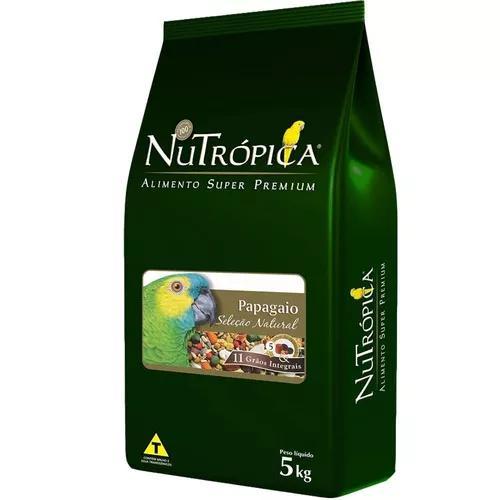 Ração nutrópica seleção natural papagaio - 5 kg