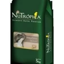 Ração nutrópica trinca ferro natural 5kg
