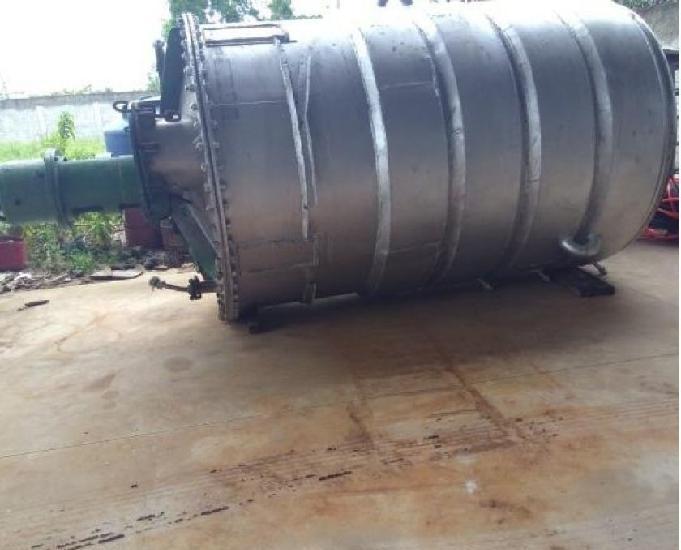 Reator misturador inox encamisado 10.000 lts