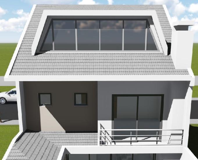 Sobrado triplex alto padrão pinheirinho - 175 m2 - permuta