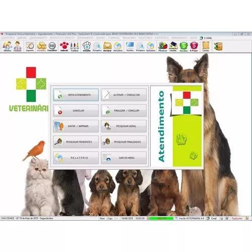 Software clinica veterinária + agendamento e financeiro