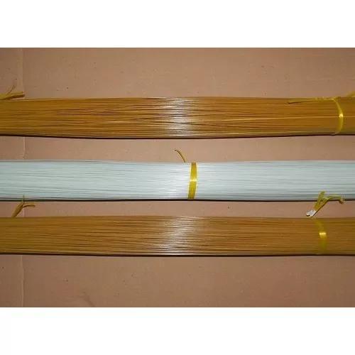 Vareta de fibra para gaiolas pipas 2.0 mm - marrom 1 kg