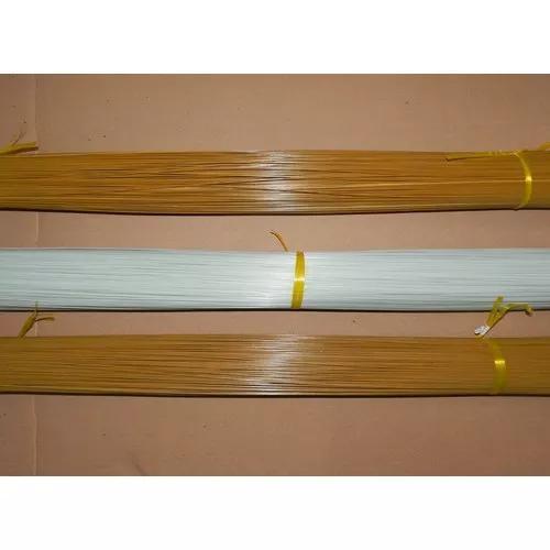 Varetas de fibra gaiolas e pipas 5kg 1.6mm marrom ou branca