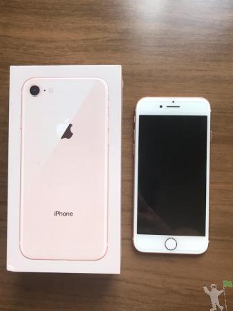 Vendo iphone 8 64gb gold com garantia em perfeito estado