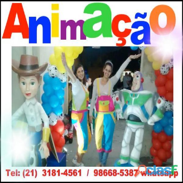 Animação e recreaão de festas infantis rj