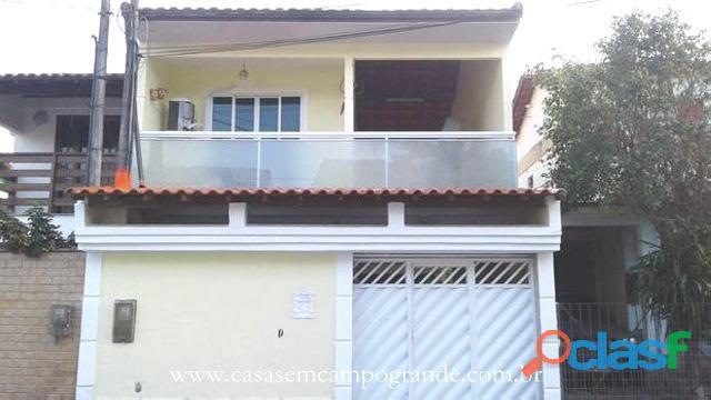 Campo Grande Bairro Isadora Casa Duplex 3 Quartos 100m2 2 Vagas Churrasqueira
