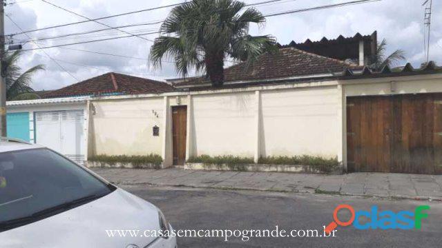 Campo Grande   São Jorge   Casa Linear 3 Quartos 140m2   3 Vagas   Aceita Carta/FGTS