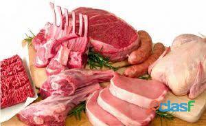 Distribuidora de alimentos cortes bovino, suino, ovino, pescados, miúdos, frangose e embutidos.