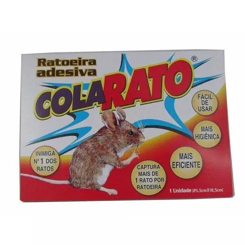 07 und ratoeira adesiva cola matar grudar ratos frete gratis