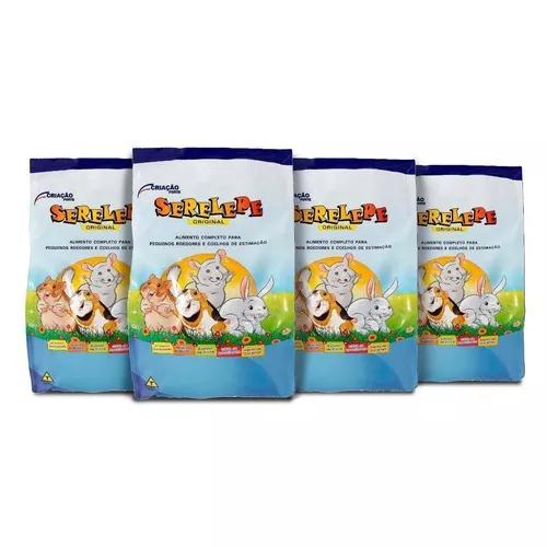 4 pacotes de serelepe + 2 nutrópica + 1kg de labina