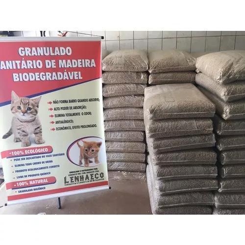 Areia para gatos 20kg. (leia o anuncio)