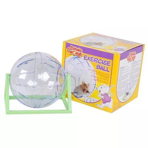 Bola de exercício chalesco para hamster transparente -