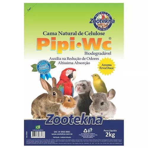 Cama zootekna pipipet erva doce roedores - 1kg