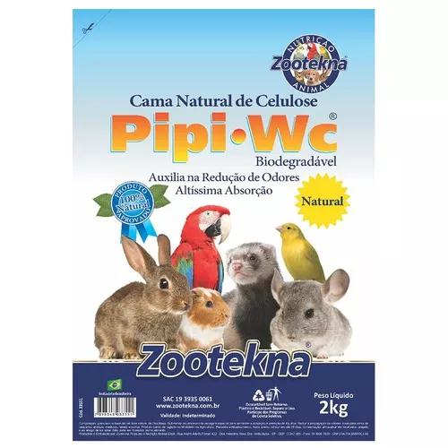 Cama zootekna pipipet natural roedores - 1kg