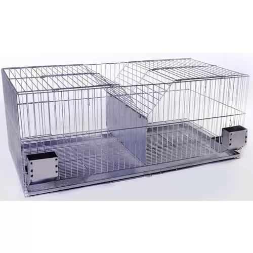 Gaiola criadeira especial completa.p/ coelhos e chinchilas.
