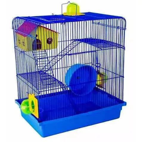 Gaiola hamster, roedores, sírio, russo, 12x sj 3 andares