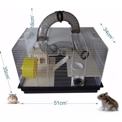 Gaiola para hamster tubos divertidos jerry