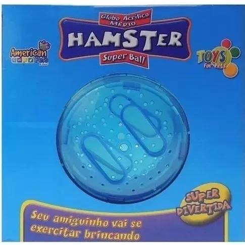 2f5307363c Globo roda bola gigante p  hamsters 18 cm diametro gaiola