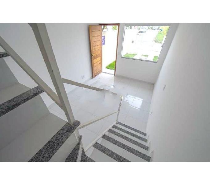 Jd. letícia - casa duplex nova 2 quartos - 65m2 - 1 vaga