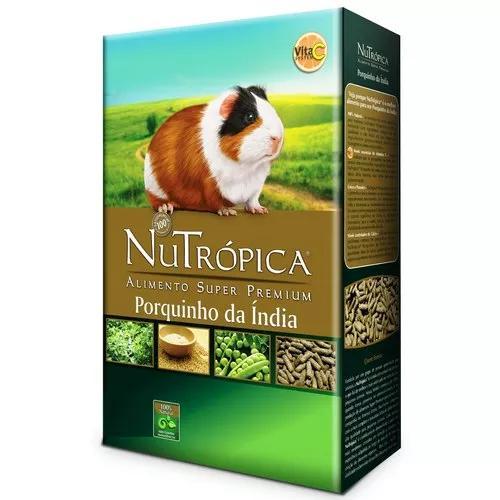 Nutrópica® porquinho da índia. caixa c/ 1,5 kilos.