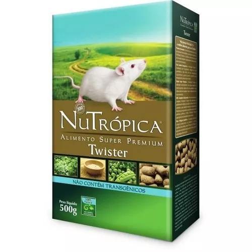 Nutrópica® twister. p/ rato branco de laboratório e